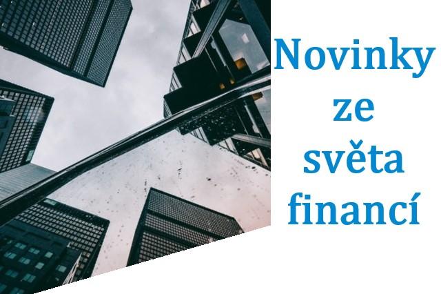 novinky ze světa financí
